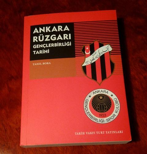 Tanıl Bora - Ankara Rüzgarı - Gençlerbirliği Tarihi Dış Kapak - Kopya