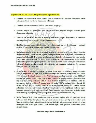 Başkan Murat Cavcav ile gerçekleşen toplantı hakkındaki notlar - 4